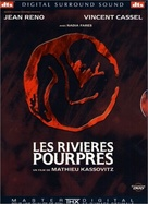 Les rivières pourpres - French DVD cover (xs thumbnail)