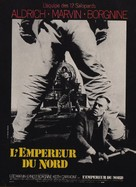 Emperor of the North Pole - French Movie Poster (xs thumbnail)