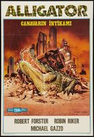 Alligator - Turkish Movie Poster (xs thumbnail)