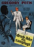 To Kill a Mockingbird - Danish Movie Poster (xs thumbnail)