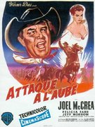 The First Texan - French Movie Poster (xs thumbnail)