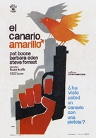 The Yellow Canary - Spanish Movie Poster (xs thumbnail)