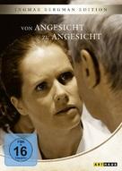 Ansikte mot ansikte - German DVD cover (xs thumbnail)