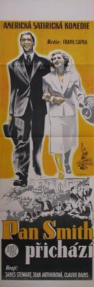Mr. Smith Goes to Washington - Czech Movie Poster (xs thumbnail)