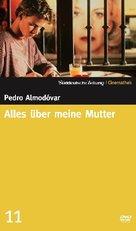 Todo sobre mi madre - German DVD cover (xs thumbnail)