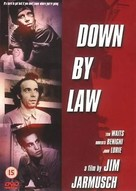 Down by Law - British DVD movie cover (xs thumbnail)