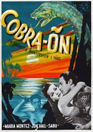 Cobra Woman - Swedish Movie Poster (xs thumbnail)
