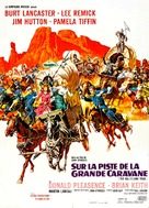 The Hallelujah Trail - French Movie Poster (xs thumbnail)