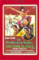 L'insegnante balla... con tutta la classe - Spanish VHS cover (xs thumbnail)