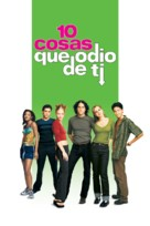 10 Things I Hate About You - Mexican DVD movie cover (xs thumbnail)