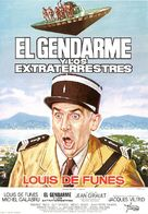 Le gendarme et les extra-terrestres - Spanish Movie Poster (xs thumbnail)