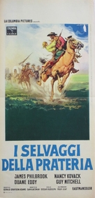 The Wild Westerners - Italian Movie Poster (xs thumbnail)