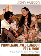 A Walk with Love and Death - French DVD cover (xs thumbnail)