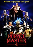 Puppet Master 4 - DVD cover (xs thumbnail)