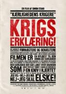 Kärlekens krigare - Danish Movie Poster (xs thumbnail)