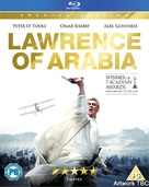 Lawrence of Arabia - British Blu-Ray movie cover (xs thumbnail)