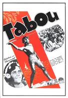 Tabu - French Movie Poster (xs thumbnail)