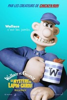 Wallace & Gromit in The Curse of the Were-Rabbit - French Movie Poster (xs thumbnail)