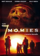 Seven Mummies - French Movie Poster (xs thumbnail)