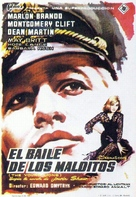 The Young Lions - Spanish Movie Poster (xs thumbnail)