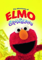 The Adventures of Elmo in Grouchland - British DVD cover (xs thumbnail)