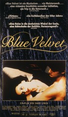 Blue Velvet - German Movie Poster (xs thumbnail)