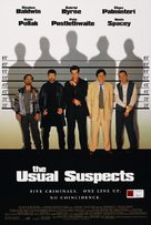The Usual Suspects - New Zealand Movie Poster (xs thumbnail)
