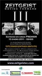 Zeitgeist: Moving Forward - Ecuadorian Movie Poster (xs thumbnail)