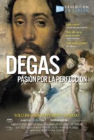 Degas: Passion for Perfection - Spanish Movie Poster (xs thumbnail)