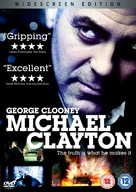 Michael Clayton - British DVD movie cover (xs thumbnail)