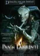El laberinto del fauno - Turkish Movie Poster (xs thumbnail)