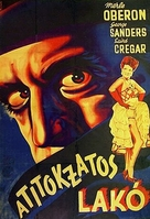 The Lodger - Hungarian Movie Poster (xs thumbnail)