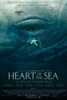 In the Heart of the Sea - Italian Movie Poster (xs thumbnail)