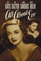 All About Eve - DVD cover (xs thumbnail)