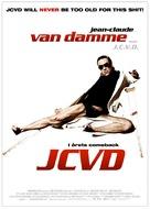 J.C.V.D. - Swedish Movie Poster (xs thumbnail)