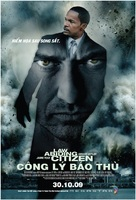 Law Abiding Citizen - Vietnamese Movie Poster (xs thumbnail)