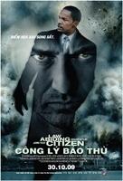 Law Abiding Citizen - Vietnamese Movie Poster (xs thumbnail)
