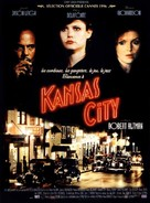 Kansas City - French Movie Poster (xs thumbnail)
