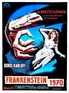 Frankenstein - 1970 - French Movie Poster (xs thumbnail)