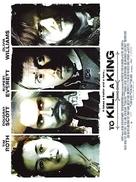 To Kill a King - British poster (xs thumbnail)