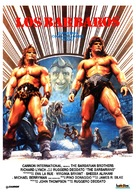The Barbarians - Spanish Movie Poster (xs thumbnail)