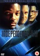Independence Day - British DVD movie cover (xs thumbnail)