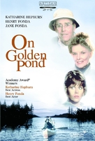 On Golden Pond - DVD cover (xs thumbnail)