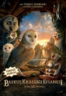 Legend of the Guardians: The Owls of Ga'Hoole - Turkish Movie Poster (xs thumbnail)