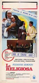 La religieuse - Italian Movie Poster (xs thumbnail)