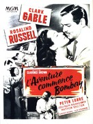 They Met in Bombay - French Movie Poster (xs thumbnail)
