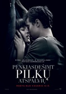Fifty Shades of Grey - Lithuanian Movie Poster (xs thumbnail)