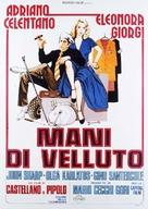 Mani di velluto - Italian Movie Poster (xs thumbnail)