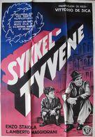 Ladri di biciclette - Norwegian Movie Poster (xs thumbnail)