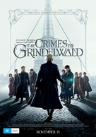Fantastic Beasts: The Crimes of Grindelwald - Australian Movie Poster (xs thumbnail)